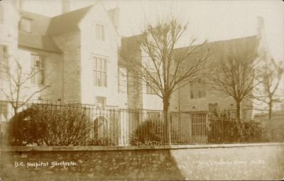 1908 view of hospital