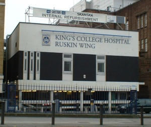 King's College Hospital (Photo: C. Ford, 2004)