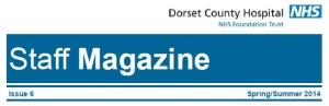 DCH staff magazine masthead summer 2014