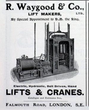 Waygood & Co. advertisement, 1902