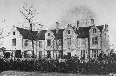The hospital before the Bankes wing was built in the 1850s